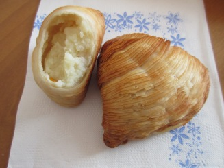 Pasta Riccia (filled with sweet Riccota)